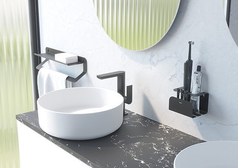 Quick Electric ToothBrush Holder - Matt Black