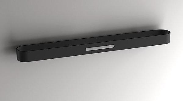 S5 Towel Bar 600mm    Matt Black