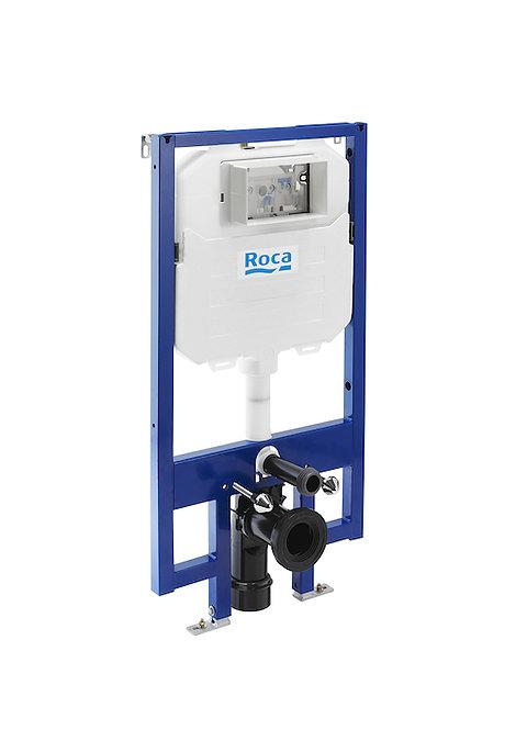 Roca Duplo Pro Slimline 1.13m WC Frame With 8cm Dual Flush Cistern