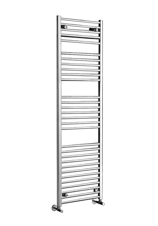 Phoenix Flavia 500 x 1500mm Ladder Heated Towel Rail - Chrome