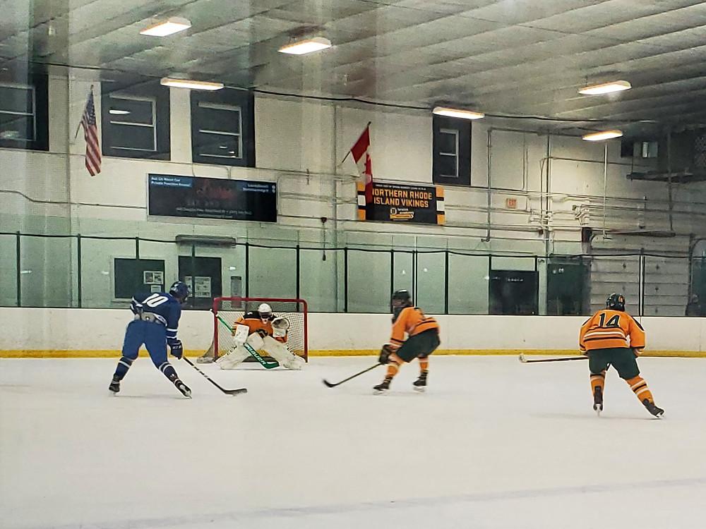 Smithfield Sentinels Hockey Cumberland Clippers Hockey
