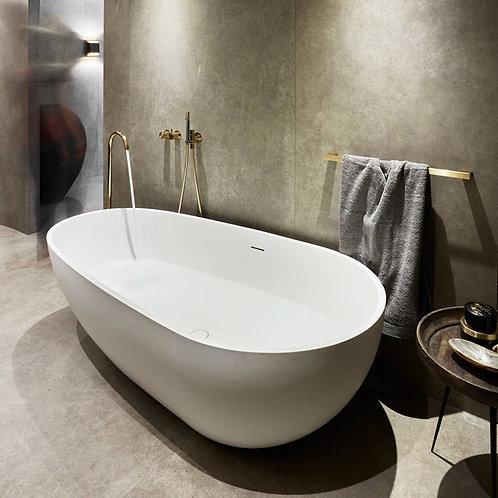 Reframe Towel Bar || Brass