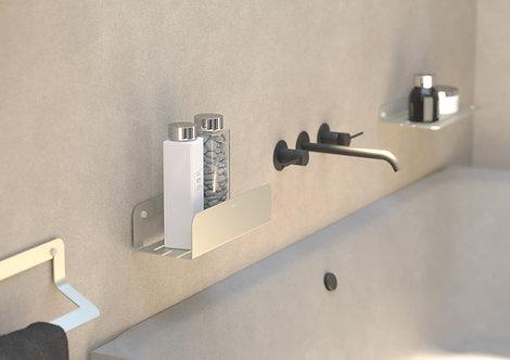 Quick Deep Shower Shelf -Aluminum Steel