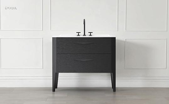 Sonia Epoque 1000mm Basin Furniture Unit :: Night Oak