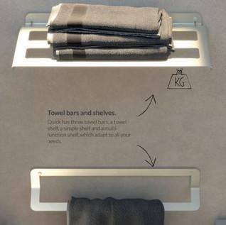 Quick Towel Rack & Towel Rail