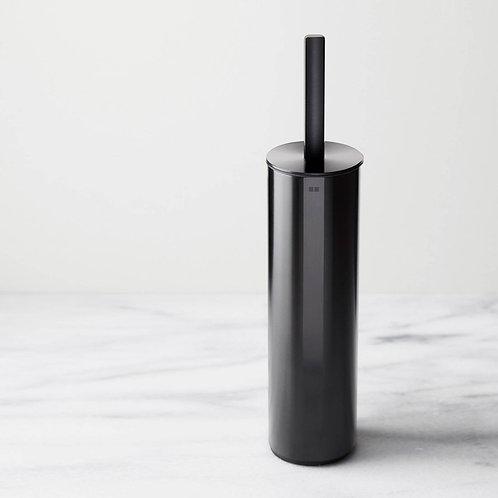 Reframe Freestanding Toilet Brush Set || Black