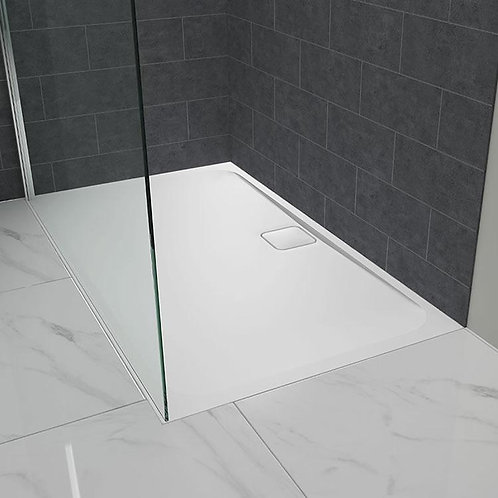 Merlyn level 25 Shower Tray & Waste 900x900 Square