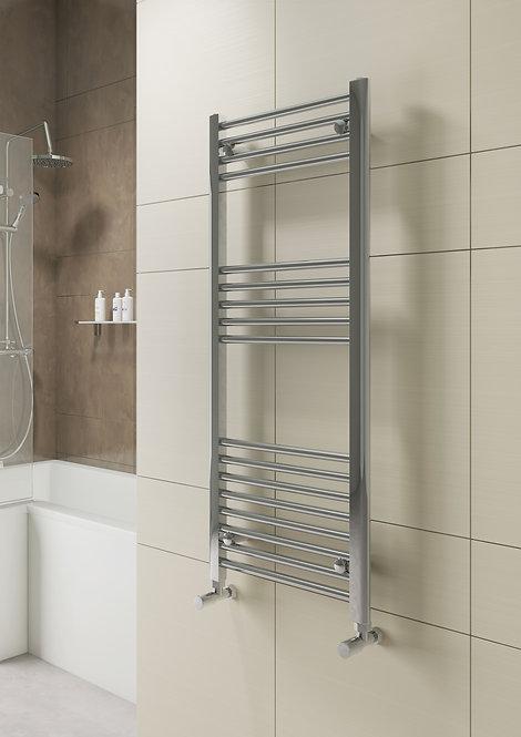 Bathworks Essentials Straight Heated Towel Rail - 800 x 500mm