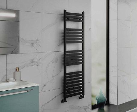 Phoenix Konnex Designer Towel Rail Black