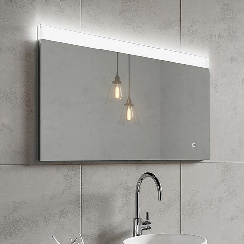 HIB Alpine 100 Steam Free LED Illuminated Mirror - 1000mm Width