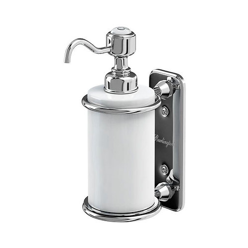 Burlington Wall Mounted Single Liquid Soap Dispenser