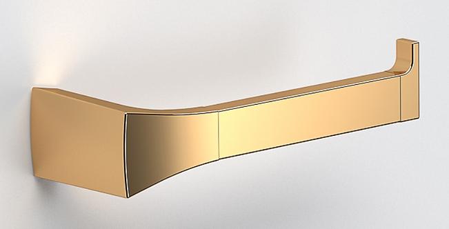 S7 Toilet Roll Holder - Polished Gold
