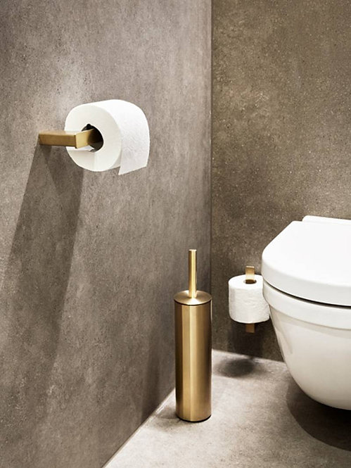 Reframe Toilet Roll Holder || Brass