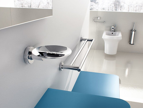 Tecno Project Metal Soap Dish With Open Groove