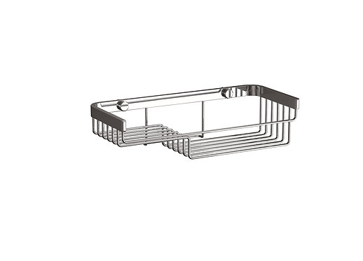 Lightweight Wire Tiered Shower Basket- NO Drill Fitting Available