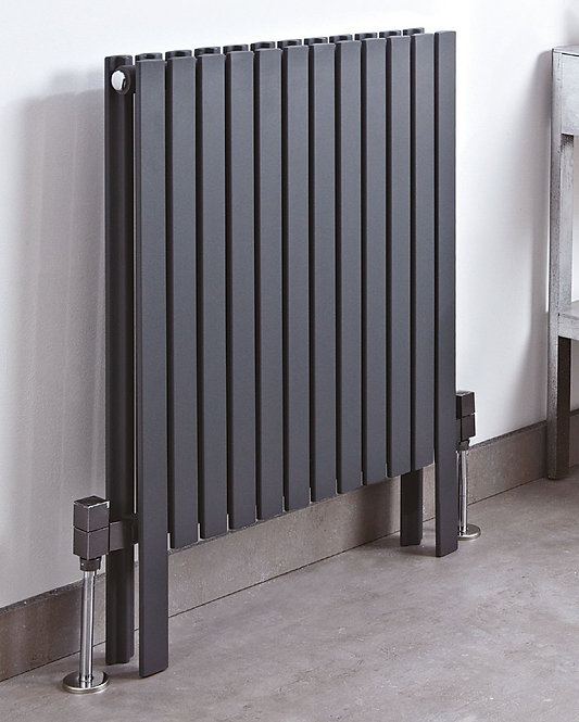 Phoenix Sienna 800mm Height Anthracite Designer Radiator