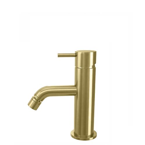 Flow Single Lever Bidet Tap :: Brushed Brass