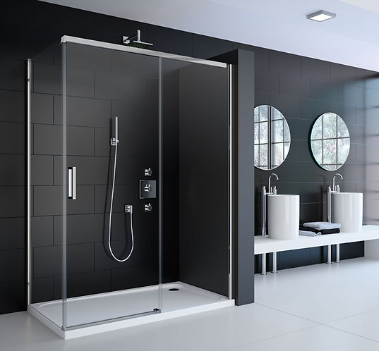 Series 8 Frameless Sliding Shower Door - 1200mm