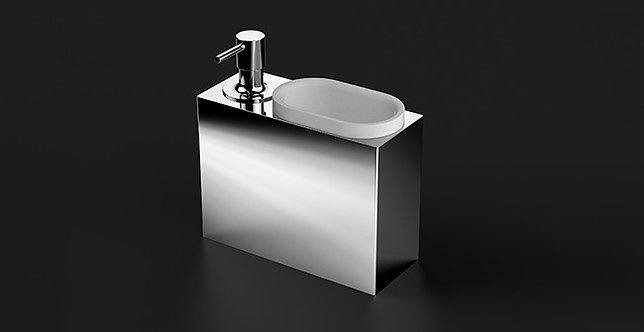 S5 Countertop Bin & Soap Dispenser Combined
