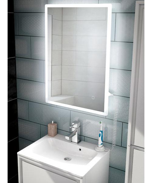 HIB Vega LED Illuminated Mirror 80x50cm
