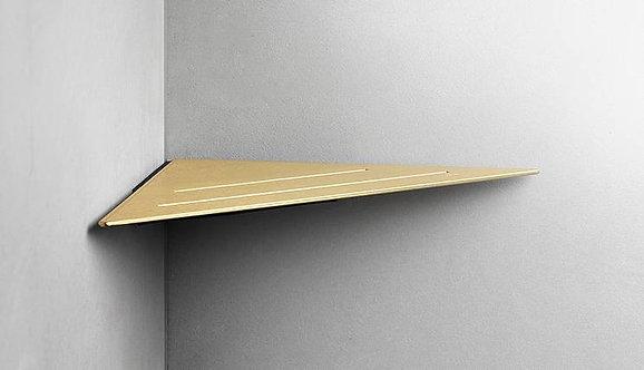 Reframe Corner Shower Shelf || Brass