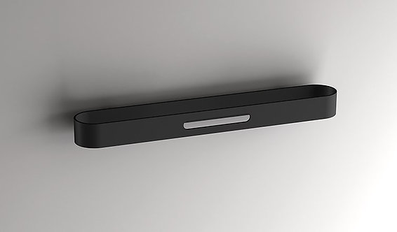 S5 Towel Rail 450mm || Matt Black