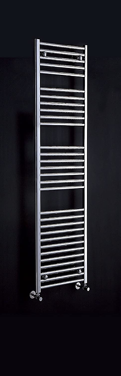 Phoenix Flavia 500 x 1200mm Ladder Heated Towel Rail - Chrome
