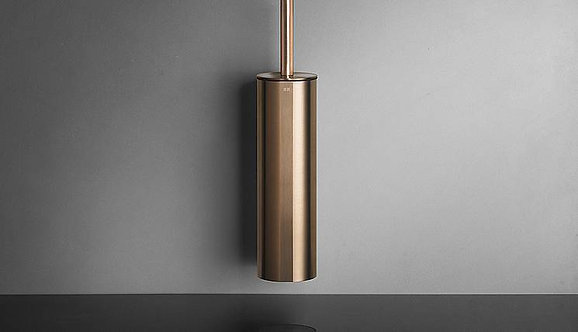 Reframe Wall Mounted Toilet Brush Set || Copper
