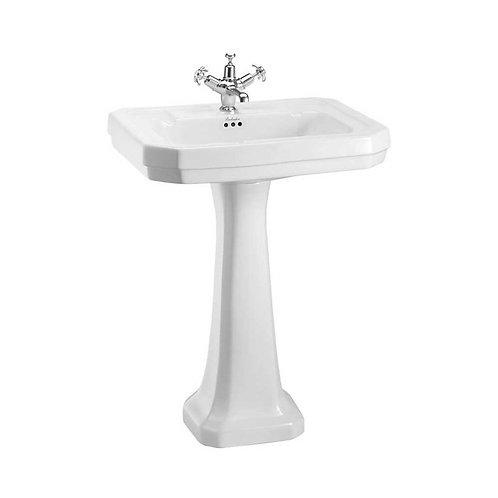 Victorian 61cm Basin & Standard Pedestal