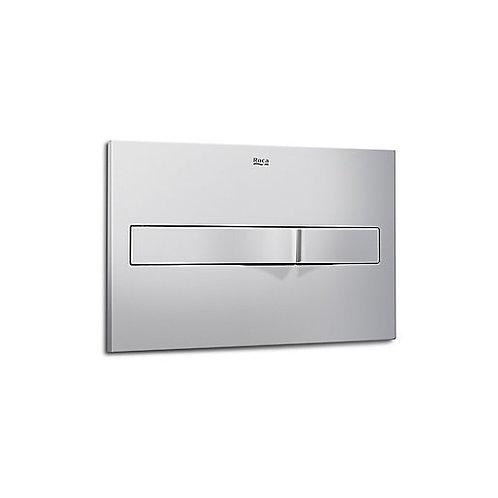 Roca PL2 Dual Flush Plate - Gloss Chrome