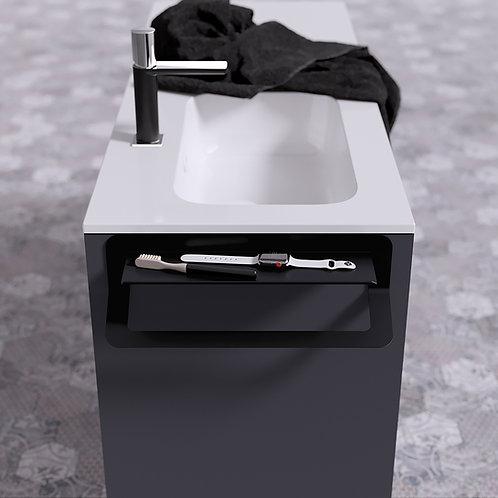 Quick 2.0 Shelf & Towel Rail 400mm
