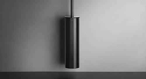 Reframe Wall Mounted Toilet Brush Set || Black