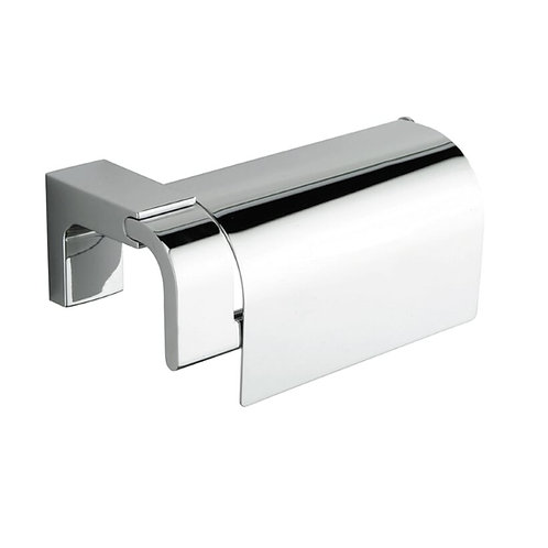 Eletech Toilet Roll Holder With Cover