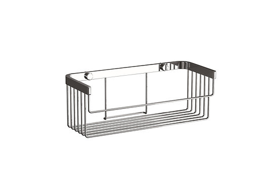 Lightweight Wire Shower Basket- NO Drill Fitting Available
