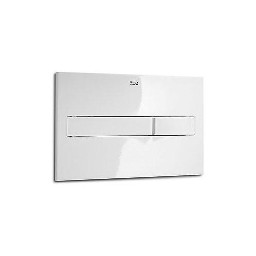 Roca PL2 Dual Flush Plate - White