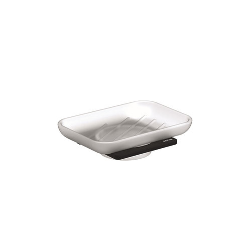 S-Cube Soap Dish- Matt Black