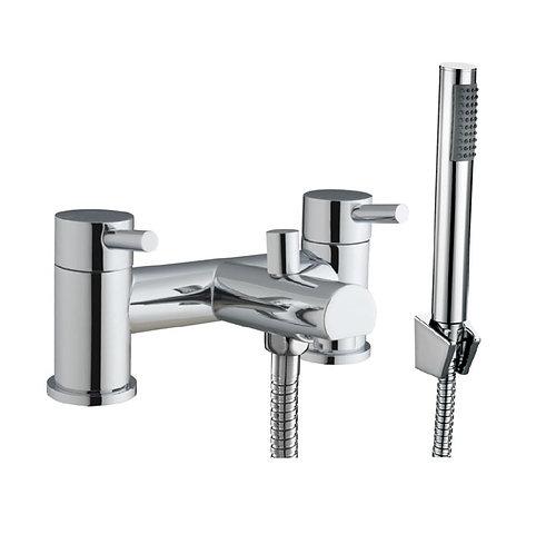 Bathworks Essentials Round Bath Shower Mixer