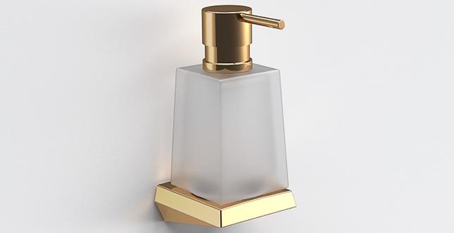 S7 Liquid Soap Dispenser - Gold