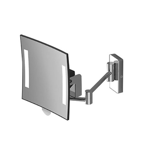 Sonia Magnifying Mirror 2 Arms Battery Powered Wall Mounted