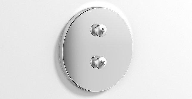 Tecno Project Non Drill Adhesive Backplate Round- 177059