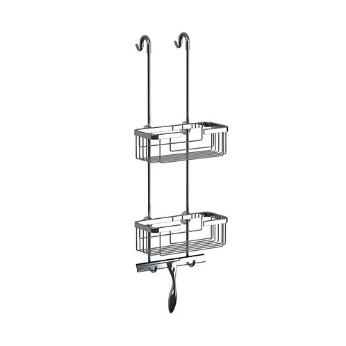 Shower Screen Hanging Basket-Wiper blade not included