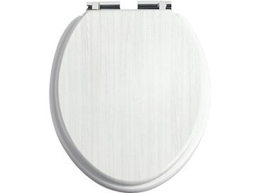 Heritage Soft Close Toilet Seat - White Ash