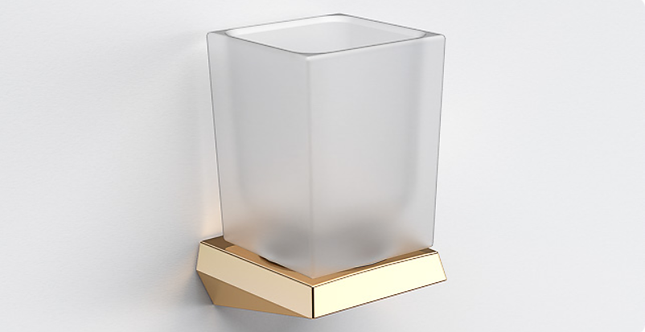 S7 Tumbler & Holder - Polished Gold