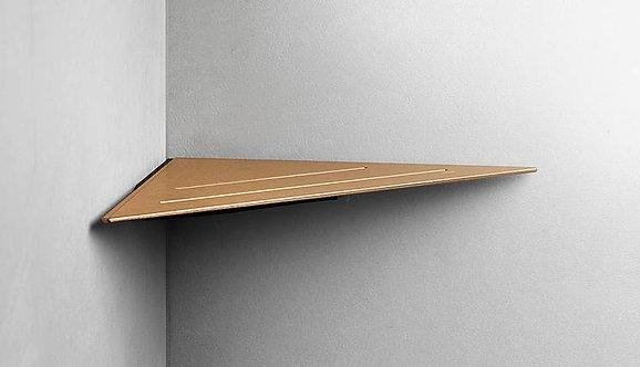 Reframe Corner Shower Shelf || Copper