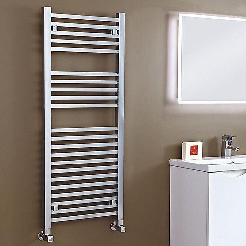 Phoenix Sophia 500mm Wide Designer Straight Towel Rail- Chrome