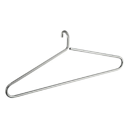 Bathworks Essential ::  Chrome Hanging Clothes Hangar