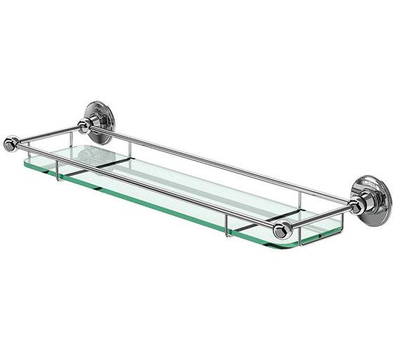 Burlington Shelf With Railing- A18 CHR