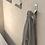 Thumbnail: Flama Double Robe Hook - Aluminum Steel