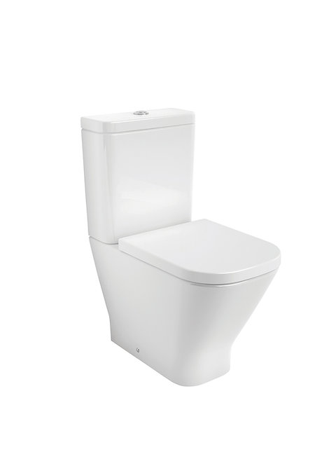Roca The Gap CleanRim CC Toilet Including Seat