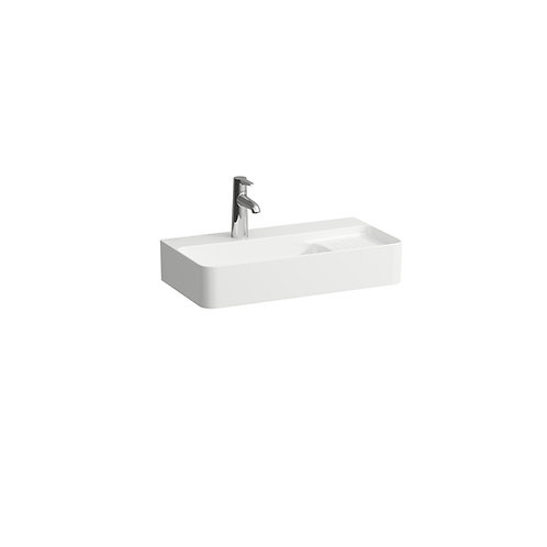 Val 600mm Compact Washbasin With Semi Wet Area